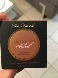 TOO FACED - Chocolate soleil - Long wear matte bronzer