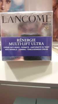 Lancôme - Rénergie multi-lift ultra - Crème anti-rides