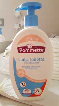 Pommette - Lait de toilette visage & corps