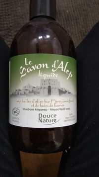 Douce Nature - Le savon d'Alep liquide bio