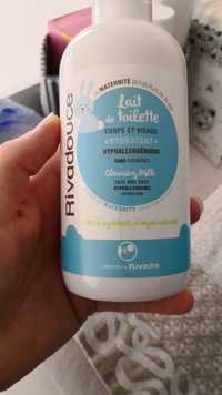 Rivadouce - Lait de toilette corps et visage - Hydratant