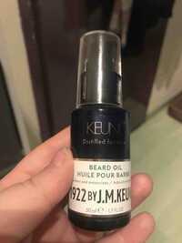 Keune - Huile pour barbe