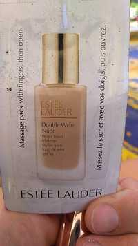 Estee Lauder - Double wear nude - Fond de teint water fresh spf 30