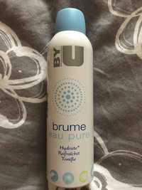 By U - Brume - Eau pure hydrate rafraîchit tonifie
