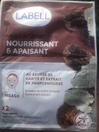 LABELL - Masque crème nourrissant & apaisant