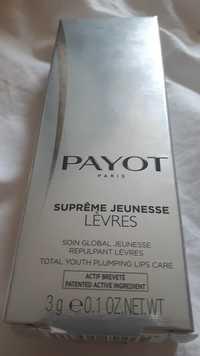 PAYOT - Suprême jeunesse lèvres