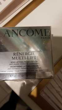 Lancôme - Rénergie multi-lift - Soin lifting rédéfinition