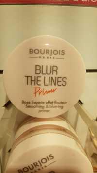 Bourjois - Blur the lines primer - Base lissante effet flouteur