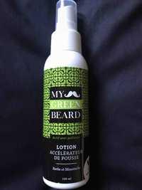 My Green Beard - Lotion accélérateur de pousse - Barbe et moustache