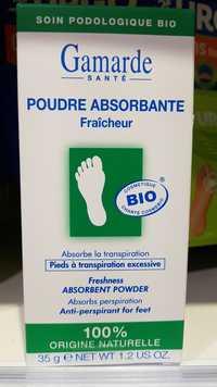 GAMARDE - Poudre absorbante fraîcheur