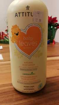 Attitude - Baby leaves science - Lotion pour le corps