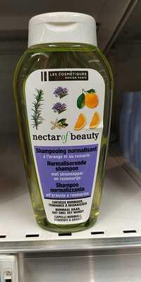 LES COSMÉTIQUES DESIGN PARIS - Nectar of beauty - Shampooing normalisant à l'orange et au romarin