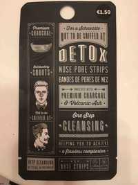 DETOX - Bandes de pores de nez