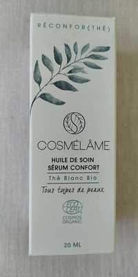 COSMÉLÂME - Réconfor(thé) - Huile de soin - Sérum confort - Thé blanc bio