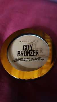 Maybelline - City bronzer - Poudre bronzante et sculptante