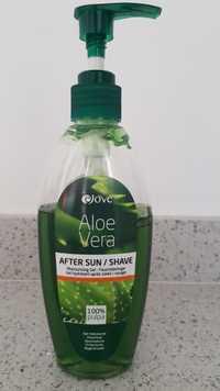 EJOVE - Aloe vera - Gel hydratant après-soleil / rasage