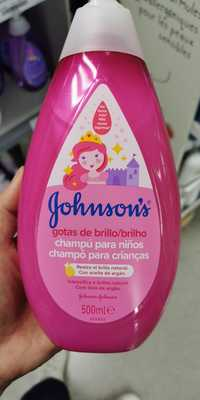 Johnson's - Gotas de brillo - Champô para crianças