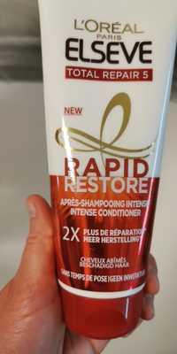L'ORÉAL PARIS - Elseve Total Repair 5 - Après-shampooing intense