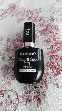 NOCIBÉ - Stay & care - Gel top coat étape 2