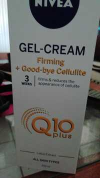 NIVEA - Q10 plus - Gel cream firming + good-bye cellulite