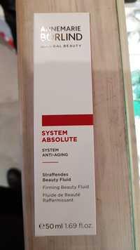 AnneMarie Börlind - System absolute - Fluide de beauté raffermissant