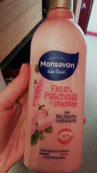 Monsavon - Fleur patchouli précieuse - Ma douche hydratante
