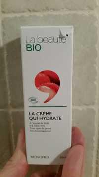 Monoprix - La beauté bio La crème qui hydrate