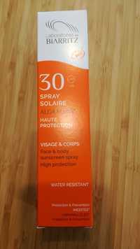 LABORATOIRE DE BIARRITZ - ALGA MARIS Spray solaire bio SPF 30