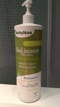 BABYLÉNA - Bioliniment oléo-calcaire à l'huile d'olive biologique