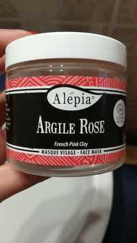 Alepia - Argile Rose - Masque visage