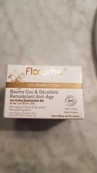 FLORAME - Lys perfection - Baume cou & décolté anti-âge