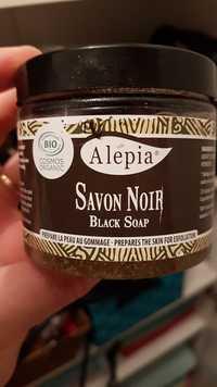 Alepia - Savon noir - Prépare la peau au gommage