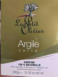 LE PETIT OLIVIER - Argile verte Surfine 100 % naturelle