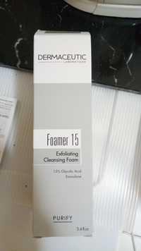DERMACEUTIC - Exfoliating cleansing foam