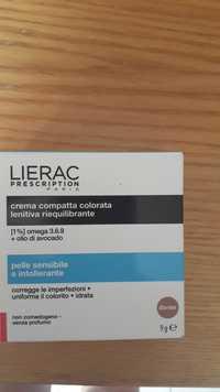 LIÉRAC - Crema compatta colorata lenitiva riequilibrante