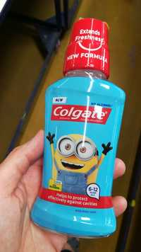 COLGATE - Minions - Fluoride mouthwash 6 -12 years old