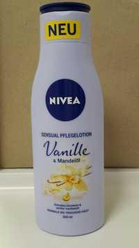 Nivea - Sensual pflegelotion vanille & mandelöl