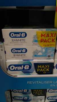 ORAL-B - 3D White - Dentifrice