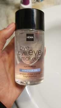 Hema - Bye bye eye makeup - Remover oil