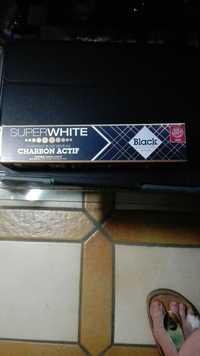 SUPERWHITE - Black edition - Dentifrice blancheur au charbon actif