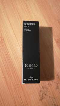 Kiko - Unlimited - Stylo Rouge à lèvres