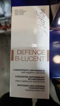 BIONIKE - Defence B-Lucent - Concentré uniformisant éclaircissant