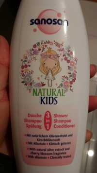 SANOSAN - Natural kids - 3 in 1 Shower Shampoo Conditioner
