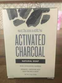 SCHMIDT'S - Activated charcoal - Natural soap