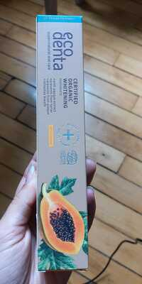 ECODENTA - Whitening - Toothpaste with papaye