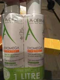 A-Derma - Exomega control - Gel moussant émollient