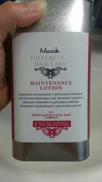 NOOK - Energizing - Maintenance lotion