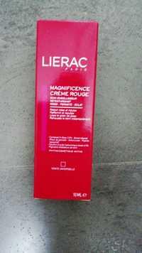LIÉRAC - Magnificence - Crème rouge