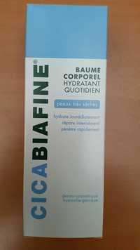 CICABIAFINE - Baume corporel hydratant quotidien