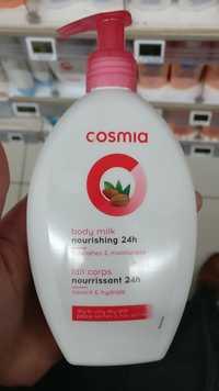 Cosmia - Lait corps nourrissant 24h peaux sèches